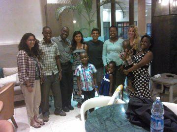 The 2016 Uganda ACCESS team: Tahreen Mohamed, Kiran Rikhraj, Khalil Merali, and Brittany Boorman.